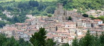 Arcidosso (Τοσκάνη, Ιταλία) Στοκ φωτογραφίες με δικαίωμα ελεύθερης χρήσης
