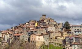 Arcidosso, Τοσκάνη, Ιταλία Στοκ Εικόνες