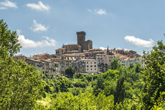 Arcidosso (Toscanië) Stock Foto
