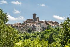 Arcidosso (Toskana) Stockfoto