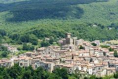 Arcidosso (Toscânia, Itália) Fotografia de Stock Royalty Free