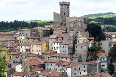 Arcidosso (Toscânia, Itália) Imagens de Stock
