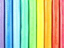 Arcilla colorida imagen de archivo libre de regalías