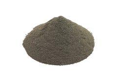 Arcilla negra del polvo Imagen de archivo libre de regalías