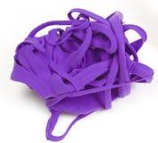 Arcilla púrpura Foto de archivo libre de regalías