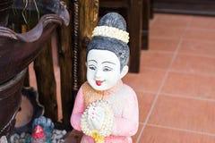 Arcilla Tailandia de la muchacha Fotos de archivo libres de regalías