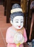 Arcilla Tailandia de la muchacha Imágenes de archivo libres de regalías