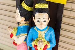 Arcilla Tailandia de la muchacha Foto de archivo