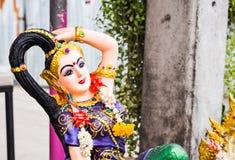 Arcilla Tailandia de la muchacha Imagen de archivo libre de regalías