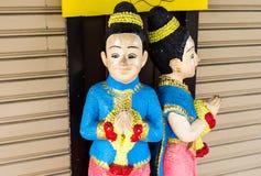 Arcilla Tailandia de la muchacha Fotografía de archivo libre de regalías