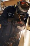 Arcing work Stock Photo