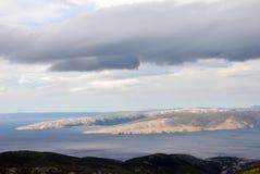 Arcipelago adriatico fotografie stock