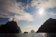 Arcipelago della st Kilda, Hebrides esterno, Scozia Fotografie Stock