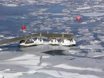 Arcipelago di inverno Fotografie Stock