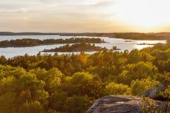 Arcipelago di Stoccolma, Svezia Immagini Stock Libere da Diritti