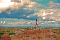 Arcipelago di Stora Rös, Gothenburg fotografie stock libere da diritti