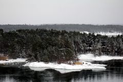Arcipelago finlandese Fotografie Stock Libere da Diritti