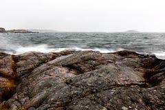 Arcipelago in maltempo Fotografia Stock