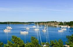 Arcipelago in Svezia. Immagini Stock Libere da Diritti