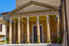Arcipretale di San Rocco church in Ravenna, Italy. Stock Photo