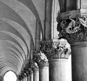 Arcitecture of venice Stock Images