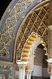 Arco árabe Foto de archivo libre de regalías
