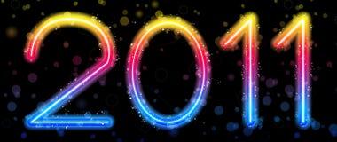 Arco-íris 2011 colorido abstrato Fotografia de Stock