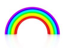arco-íris 3d Imagens de Stock