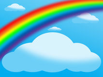 Arco-íris ilustração stock