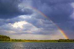 Arco-íris. foto de stock