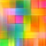Arco-íris abstrato linhas borradas fundo da arte da pintura do respingo da cor Foto de Stock