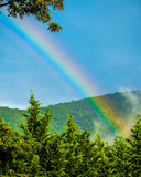 Arco-íris após a tempestade Fotos de Stock Royalty Free