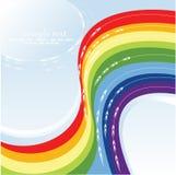 Arco-íris bonito Ilustração Stock