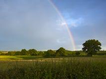 Arco-íris bonito fotografia de stock royalty free
