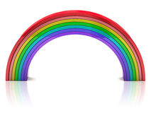 Arco-íris colorido Fotos de Stock Royalty Free