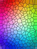 Arco-íris colorido ilustração stock