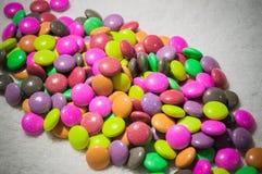 Arco-íris colorido dos doces Fotos de Stock Royalty Free