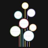 Arco-íris da bolha Foto de Stock