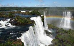 Arco-íris da cachoeira Imagem de Stock Royalty Free