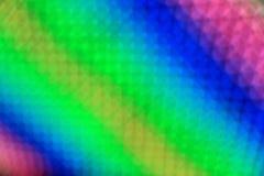 Arco-íris da luz do diodo emissor de luz do borrão do sumário da arte colorido Foto de Stock Royalty Free