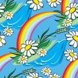 Arco-íris da mola sem emenda Fotografia de Stock