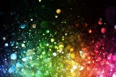 Arco-íris das luzes Fotos de Stock Royalty Free