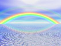 Arco-íris de Digitas Imagem de Stock Royalty Free
