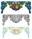 Arco-íris de ganhos das rosas Imagem de Stock