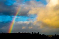Arco-íris de Ontário Foto de Stock