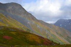 Arco-íris do campo de gelo de Alaska Seward Harding Imagem de Stock Royalty Free