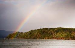 Arco-íris do canal da capa Foto de Stock Royalty Free