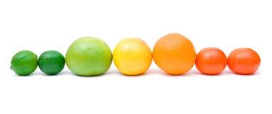 Arco-íris do citrino Fotografia de Stock Royalty Free