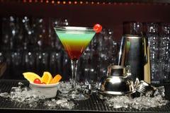 Arco-íris do cocktail Imagens de Stock