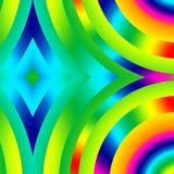 Arco-íris do diamante Imagem de Stock